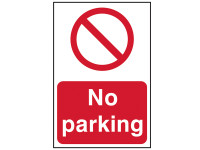 Scan No Parking - PVC 200 x 300mm