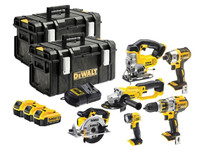 DeWalt DCK694M3T 6 Piece Kit 18V 3 x 4.0Ah Li-Ion from Toolden