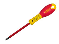 Stanley Tools FatMax VDE Insulated Screwdriver Phillips Tip PH0 x 75mm