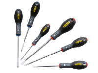 Stanley Tools FatMax Screwdriver Set Parallel/Flared/Pozi Set of 6