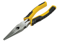 Stanley Tools ControlGrip? Long Nose Cutting Pliers 150mm| Toolden