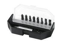 Stanley Tools Insert Bit Set Slotted/ Phillips/ Pozidriv 10 Piece
