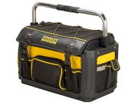 Stanley Tools FatMax Plastic Fabric Open Tote with Cover 50cm (20in)  Toolden