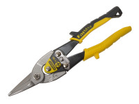 Stanley Tools Yellow Aviation Snip Straight Cut 250mm