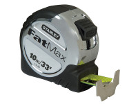 Stanley Tools FatMax Tape Measure 10m/33ft (Width 32mm)