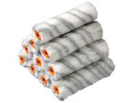 Stanley Tools Medium Pile Silver Stripe Sleeve 100mm (4in) 10 Pack