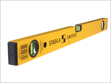 Stabila 70-2-180 Double Plumb Spirit Level 3 Vial 180cm | Toolden