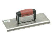 Marshalltown M192SS Cement Edger Stainless Steel Durasoft Handle 10in x 4in from Toolden.