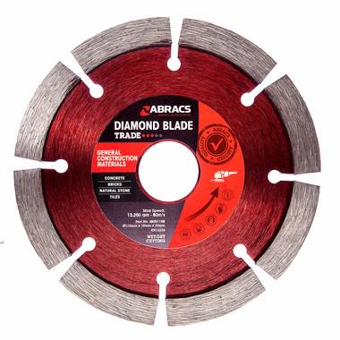 Abracs ABDD115M Trade General Purpose Diamond Blade 115mm
