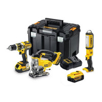 DeWalt DCK364M3T 18v 3 x 4.0Ah Li-Ion XR 3 Piece Kit from Toolden