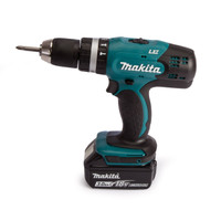 Makita DHP453SF 18V Combi Drill with 1x 3.0Ah Li-Ion Battery | Toolden