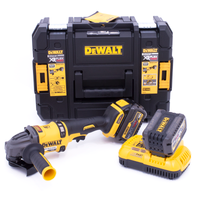 DeWalt DCG414T2 XR Flexvolt 54v Angle Grinder with 2 x 6.0Ah Batteries