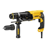 DeWalt DWD524KS 2 Speed Piston Percussion Drill 1100 Watt 110 Volt from Toolden