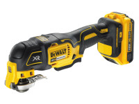 DeWalt DCS355D1 XR Brushless Oscillating Multi-Tool 18 Volt 1 x 2.0Ah Li-Ion