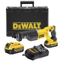 DeWalt DCS380M2 XR Premium Reciprocating Saw 18 Volt 2 x 4.0Ah Li-Ion from Toolden