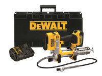 DeWalt Cordless XR Grease Gun 18 Volt 1 x 4.0Ah Li-Ion | Toolden