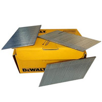 DeWalt DT9902QZ Box of 2500 44mm 16G Angled Galvanised Nails from Toolden