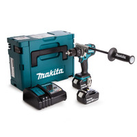 Makita DHP481RTJ 18v Brushless Combi with 2x5.0ah from Toolden