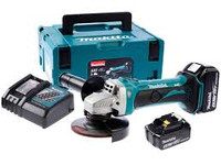 Makita DGA452RMJ 18v 115mm Grinder 2x4ah Li-ion | Toolden