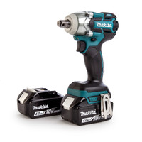 Makita DTW281RMJ 18v Impact Wrench 2x4ah from Toolden