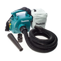 Makita DVC350Z 18v LXT Vacuum Cleaner Body Only | Toolden