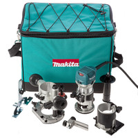Makita RT0700CX2 110v Router Trimmer + 2 Bases from Toolden