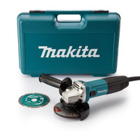 Makita GA4540R01 110v 41/2 1100w Grinder from Toolden
