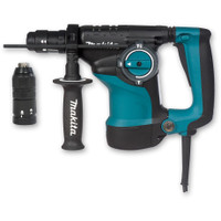 Makita HR2811FT-1 110v SDS+ Rotary Hammer + Quick Change Chuck | Toolden