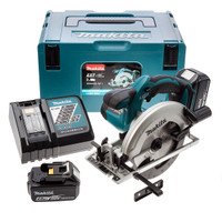 Makita DSS611RMJ 18v 165mm Circ Saw 2x4 Li-Ion | Toolden