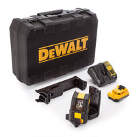 Dewalt DCE088D1G 10.8V Self Leveling Cross Line Green Laser from Toolden