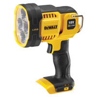 Dewalt DCL043 18V XR Cordless LED Spotlight Body Only from Toolden