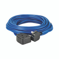 Defender 14M Extension Lead - 13A 1.5mm Cable - Blue 230V