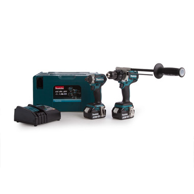 Makita DLX2176TJ 18v Brushless LXT Twin Kit | Toolden