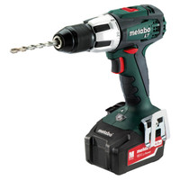 Metabo SB18LT 18V Combi Drill 2x 4.0Ah Batteries & Charger from Toolden