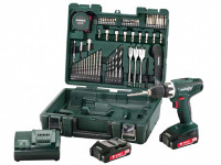Metabo BS18Li 18v 2x1.5.0Ah Li-Ion Drill Driver Mobile Workshop Accessory Kit from Toolden