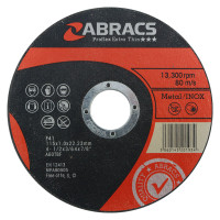 Abracs Super Thin Metal Cutting Disc 125 x 1 x 22.2mm | Toolden.