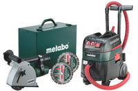 Metabo MFE30 + ASR35MACP 110V Wall Chaser & Vac from Toolden