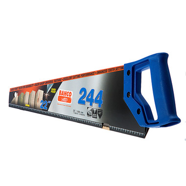 Bahco 244 Blue Handsaw (Twin Pack)