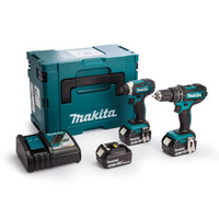 Makita DLX2131 Twinpack 2 X 3.0Ah Batteries Charger & Macpak from Toolden