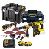 Dewalt TDKIT3x5 3 Piece Kit + 2 x  5.0amp Batteries