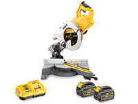 DeWalt DCS778T2-GB 54v XR FlexVolt 2x6Ah Li-Ion 250mm Mitre Saw Kit From Toolden