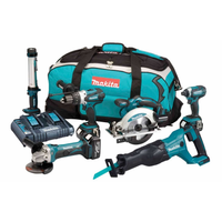 Makita DLX6044PT 6 Piece 18v Combo Kit LXT | Toolden