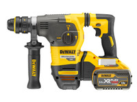 ewalt DCH334X2 54V Brushless XR FLEXVOLT SDS Rotary Hammer 3-Mode in TSTAK Box (2 x 9Ah Batteries) with Quick Change Chuck | Toolden