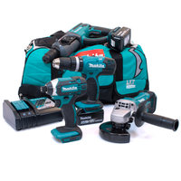 Makita M41 18v 4 Piece Kit with 2 x 4.0Ah Batteries