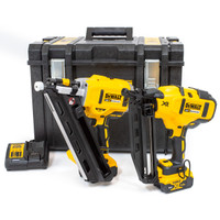DeWalt DCK264P2 18v XR 1st Fix Nailer 2nd Fix Nailer 2 x 5.0Ah Li-ion Kit Box from  Toolden
