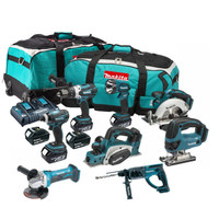 Makita DLX6012PM8PC5X3 8 Piece 18 Volt Kit from Toolden