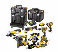 DeWalt Cordless 18v 8 Piece Kit w/ 3 x 5ah Batteries  | Toolden