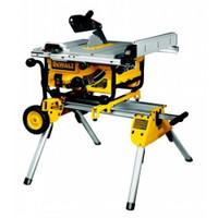 DeWalt DW745 240v Portable Site Saw With DE7400 Saw Stand