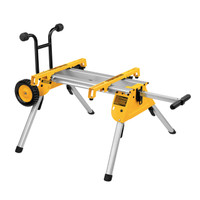 Dewalt DE7400-XJ Heavy-Duty Rolling Table Saw Stand | Toolden