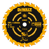 Dewalt DT10303 Circular Saw Blade 184 x 16mm x 40T Corded Extreme Framing From Toolden